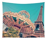 Merry Go Paris Tapestry