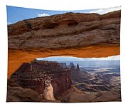 Mesa Arch Morning Glow Tapestry