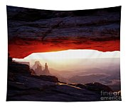 Mesa Arch Sunrise 4 Tapestry