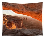 Mesa Arch Sunrise 5 - Canyonlands National Park - Moab Utah Tapestry