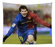 Messi 1 Tapestry