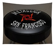 Metallica Bar Stool Tapestry