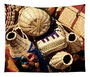 Mexican Baskets Tapestry