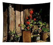 Mexican Geraniums Tapestry