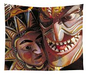 Mexican Masks Tapestry