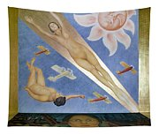 Mexican Mural Painting Tapestry