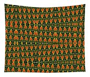 Mexican Poppy Field Abstract Tapestry