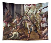Mexico: Christian Martyrs Tapestry