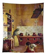 Mexico: Kitchen, C1850 Tapestry