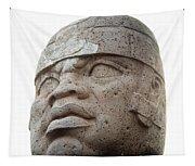 Mexico: Olmec Head Tapestry