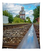 Mi New Haven Rail Road Reflections Tapestry