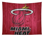 Miami Heat Barn Door Tapestry