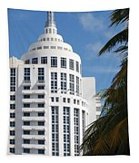 Miami S Capitol Building Tapestry