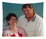 Michael  Peychich And His Sweetheart Tapestry