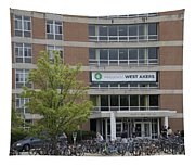 Michigan State University Welcome To Akers Signage Tapestry