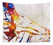 Mick Jagger Abstract Tapestry