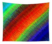 Micro Linear Rainbow Tapestry