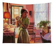 Midday Tea Tapestry