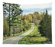 Middle Road In Autumn Tapestry