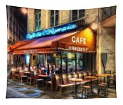 Midnight At The Brasserie Tapestry