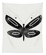 Midnight Butterfly 1- Art By Linda Woods Tapestry