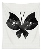 Midnight Butterfly 2- Art By Linda Woods Tapestry