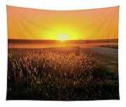 Midwest Sunset Tapestry