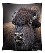 Mighty Bison Tapestry