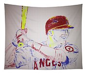 Mike Trout Tapestry