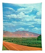 Miles To Go Tapestry