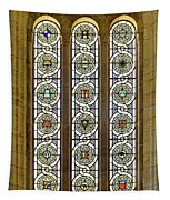 Military Insignia On Stained Glass - Meuse Argonne - East Tapestry