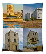 Military Observation Towers Operation Bumblebee Tapestry