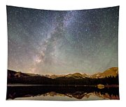 Milky Way Over The Colorado Indian Peaks Tapestry