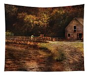 Mill - The Village Edge Tapestry