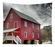 Mill At Whitewater Cree Tapestry