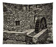Mill Creek Water Wheel Tapestry