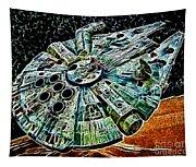 Millenium Falcon Tapestry