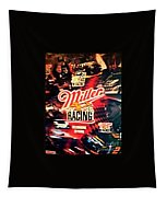 Miller Racing Sign 25th Year Tapestry