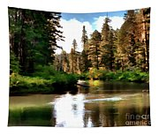 Millers Creek Painterly Tapestry