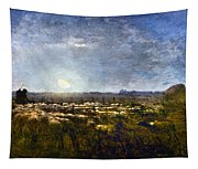 Millet: Sheep By Moonlight Tapestry