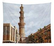 Minareto E Mercato Tapestry