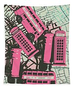 Miniature London Town Tapestry
