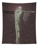 Minimalist Christ Tapestry