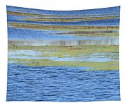 Brazos Bend Wetland Abstract Tapestry