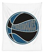 Minnesota Timberwolves Retro Shirt Tapestry