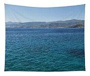 Mirabello Bay Panorama Tapestry