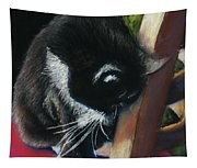 Kitty Chair Tapestry