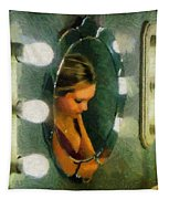 Mirror Mirror On The Wall Tapestry