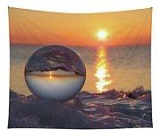 Mirrored Sunrise Tapestry
