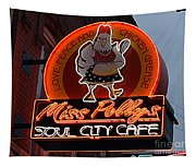 Miss Polly's Soul City Cafe Tapestry